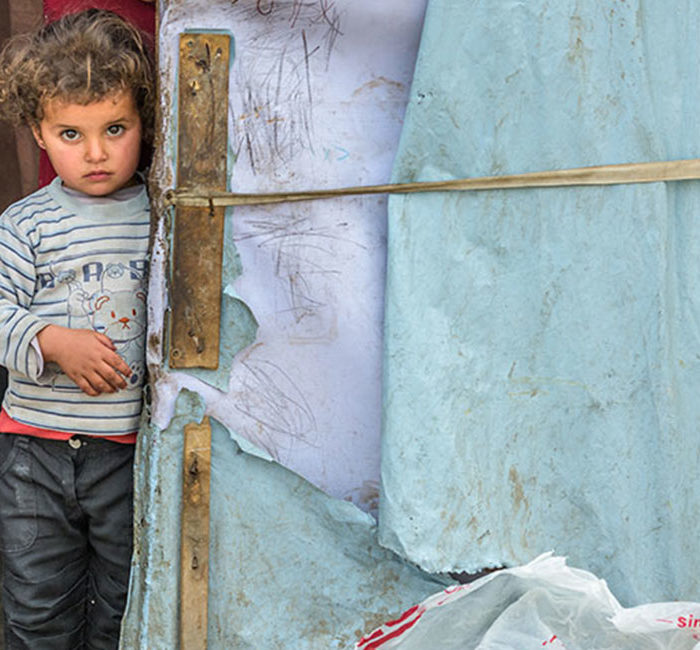 INCREASE AID TO FAMILIES AND CHILDREN FLEEING WAR
