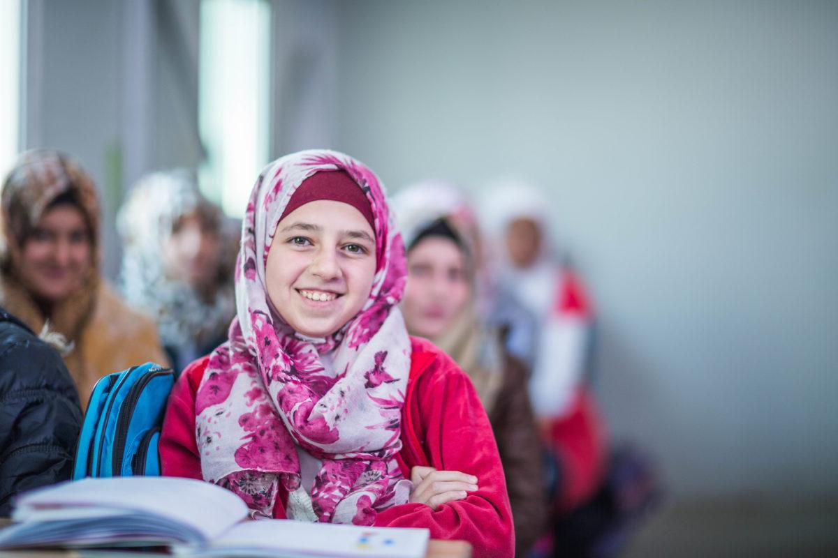 A child refugee finds hope after loss