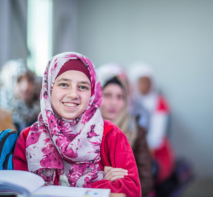 Protecting refugee girls through education