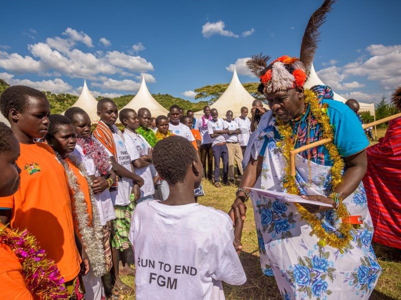 International Day of Zero Tolerance for Female Genital Mutilation: Changing the trajectory of girls' lives in Kenya