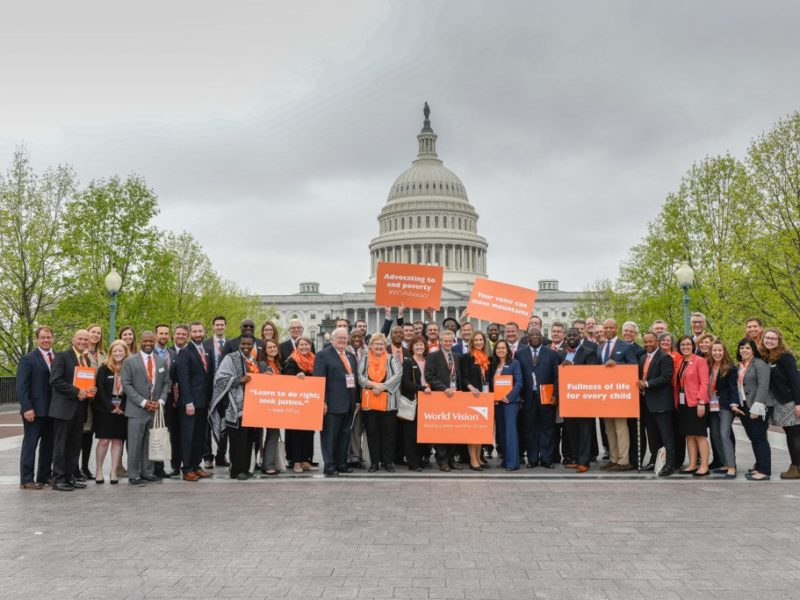 Faith In Action at the Advocacy Summit