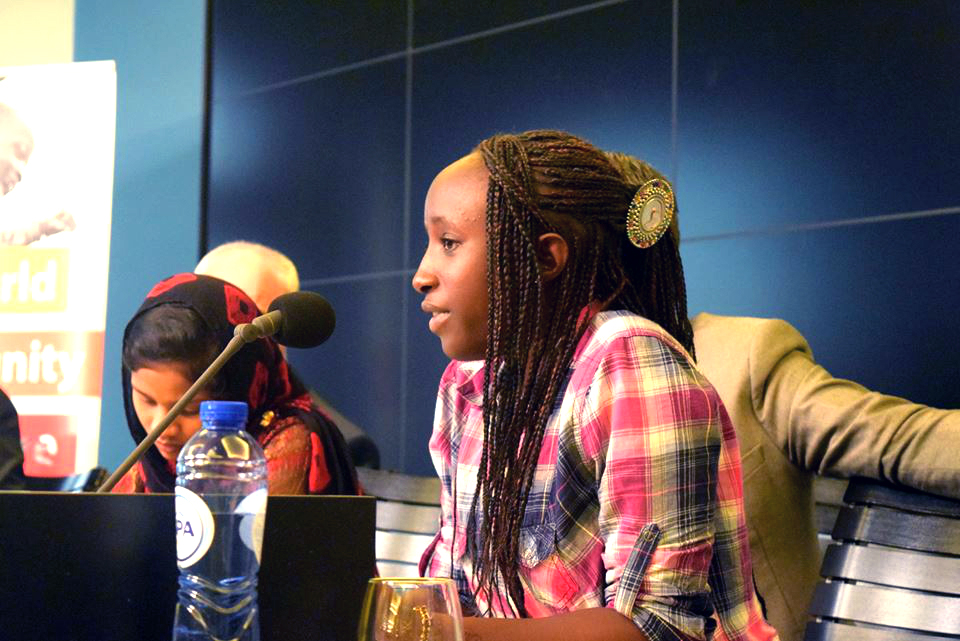 """Young leader in Senegal: """"End child marriage"""""""