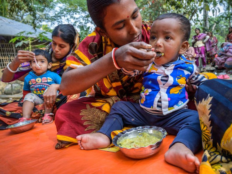 These nutrition classes are helping moms and newborns in Bangladesh thrive