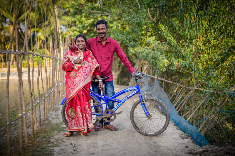 "Women in Bangladesh supported by ""male engagement sessions"""